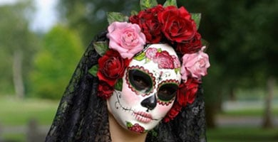 Máscara La Catrina