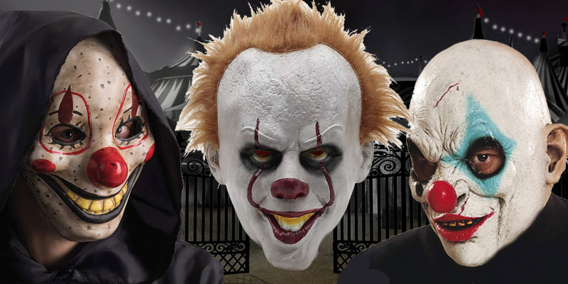 Máscaras Payaso Asesino