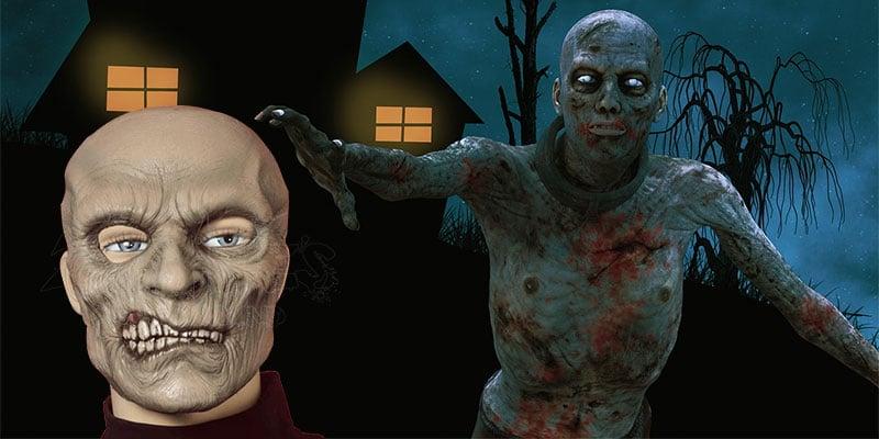 Máscaras Zombie