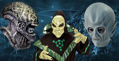 Máscaras Alienigenas