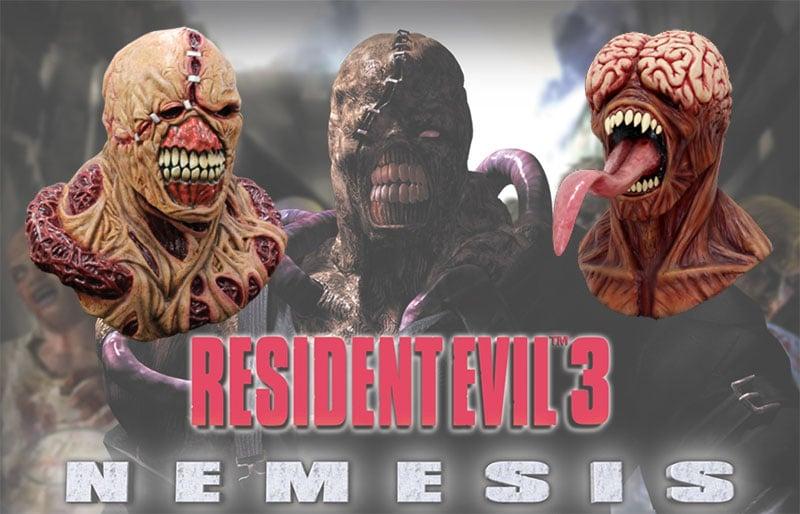 Máscaras de Halloween Realistas